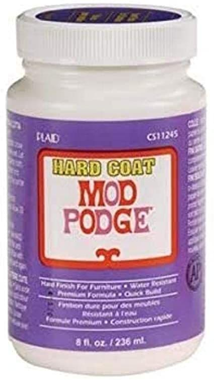 Mod Podge 8 oz Hard Coat
