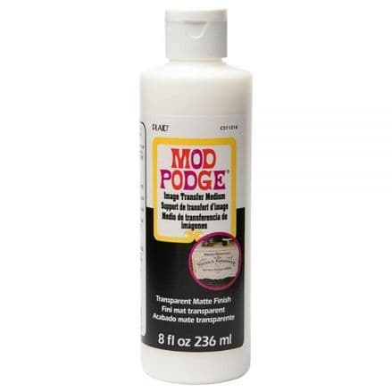 Mod Podge Clear Image Transfer 8oz/