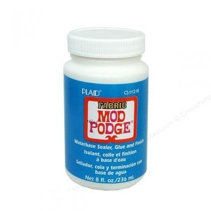 Mod Podge Fabric 8oz /237ml Waterbase sealer,Glue, Finish