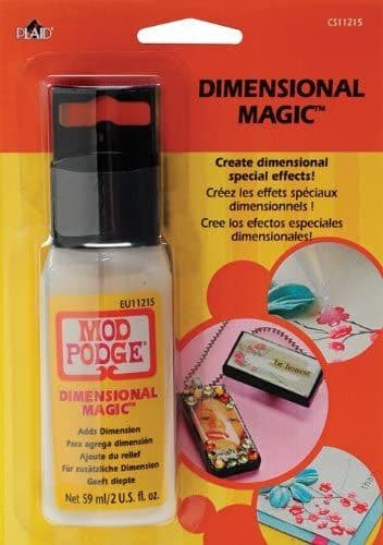 Plaid:Craft Mod Podge Dimensional Magic clear