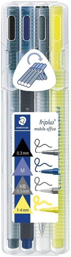 Staedtler Triplus 34 SB4 Mobile Office Writing Set