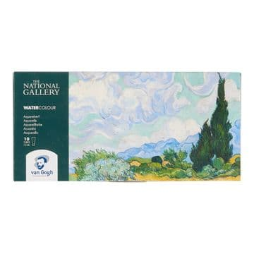 Van Gogh The National Gallery Water Colour Set with 10 Colours in 10ml Tube 20820210