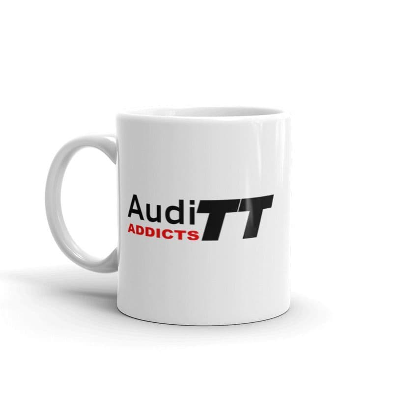 Audi TT Addicts  (Logo Only)  Ceramic Mug