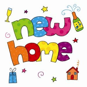 TW856  New Home Card