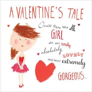Twizler TVAL1 - Valentines Card For Her