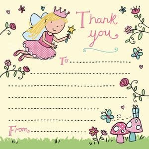 Fairy Thank You Note