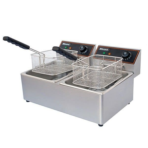 Blizzard Double Electric fryer