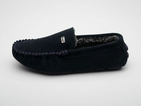 Percy Moccasin Navy