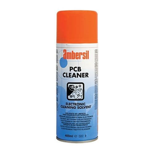 Ambersil 400ml PCB Cleaner Electronic Cleaner Solvent Aerosol Spray