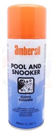 Ambersil 400ml Pool & Snooker Table Cloth Cleaner Stain Remover Aerosol Spray