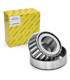 Replacement (DUNLOP) P0001 P0002 for Williams Trailer Wheel Bearing