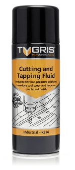 Tygris 400ml Cutting and Tapping Fluid Aerosol Spray Increases Performance & Tool Life (R214)
