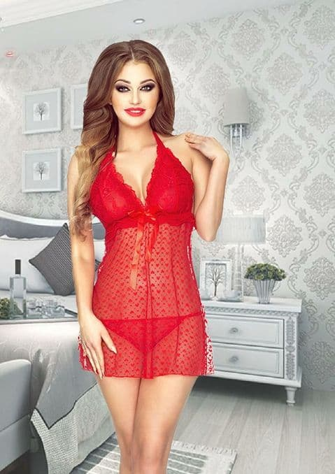 Provocative - A Deux Babydoll Red