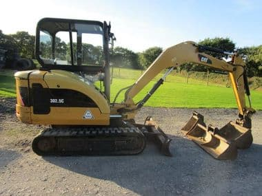 Caterpillar 302.5c Mini Digger - SOLD