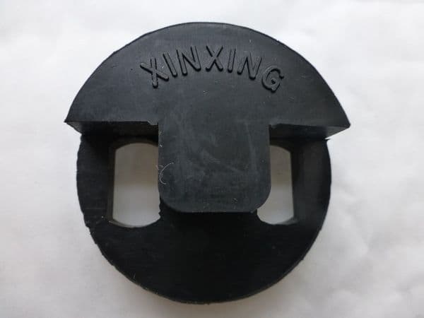 DOUBLE BASS MUTE, CIRCLE STYLE FOR 4/4 OR 3/4, BLACK, QUALITY ITEM, UK DESPATCH!
