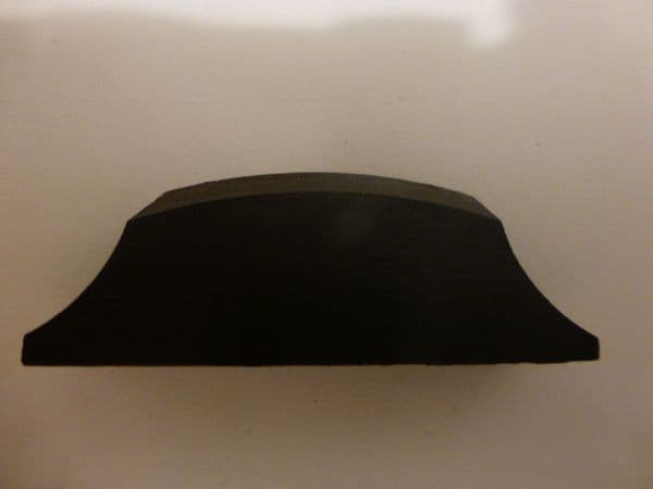EBONY CELLO NUT FOR END OF FINGERBOARD. QUALITY ITEM FOR 4/4 SIZE. UK SELLER