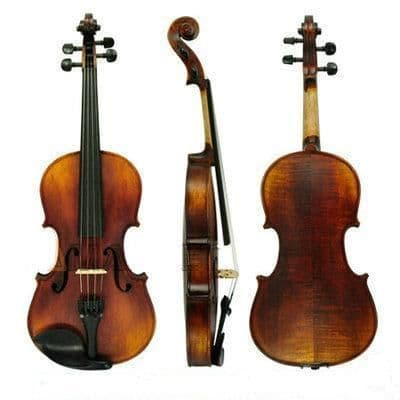 NEW 4/4 VIOLIN STRADIVARIUS COPY, WITH CASE AND BOW, EXCELLENT TONE, UK SELLER!