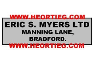 Eric S Myers Motorcycle Dealer Decals Transfers DDQ119