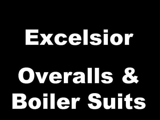 Excelsior Classic Motorcycle Overalls and Boiler Suits