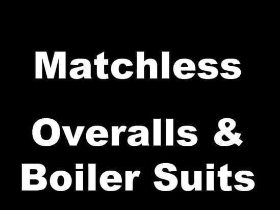 Matchless Classic Motorcycle Overalls and Boiler Suits
