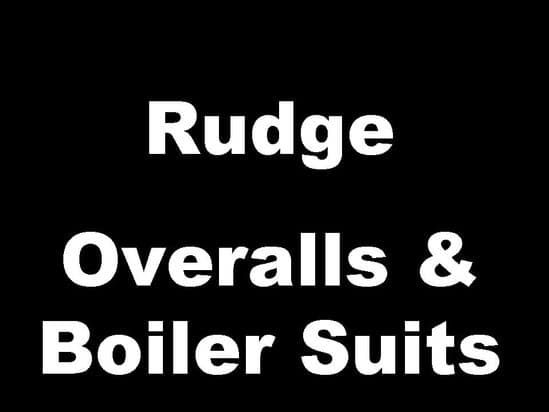Rudge Classic Motorcycle Overalls and Boiler Suits