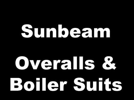 Sunbeam Classic Motorcycle Overalls and Boiler Suits