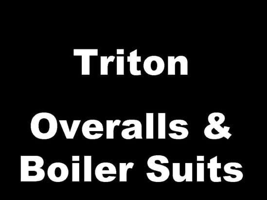Triton Classic Motorcycle Workshop Overalls Boiler Suits