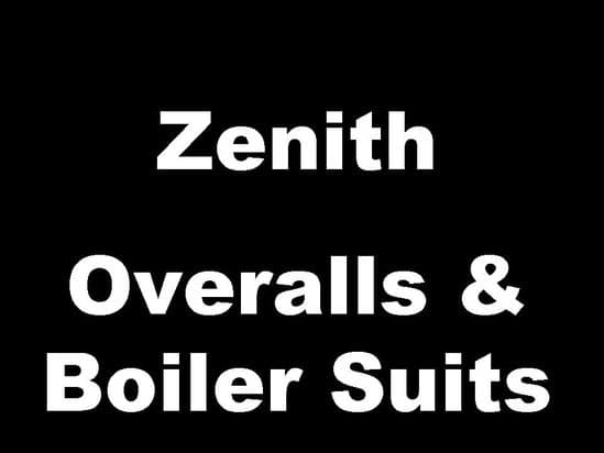 Zenith Classic Motorcycle  Workshop Overalls and Boiler Suits
