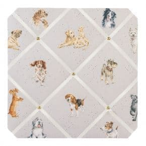'A Dog's Life Fabric Notice Board'