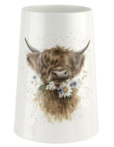 'Daisy Coo' Cow Large Vase