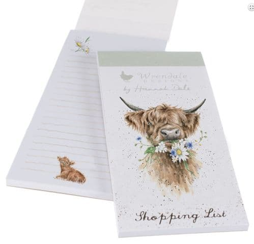 'Daisy Coo' Magnetic Shopping Pad