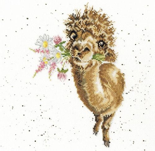 'Hand Picked For You' Cross Stitch Kit - XHD79