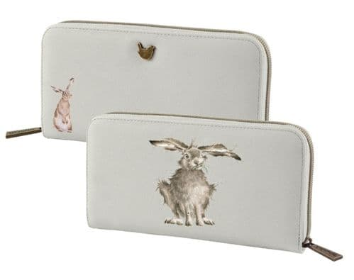 'Hare-Brained' Large Purse - PUL001