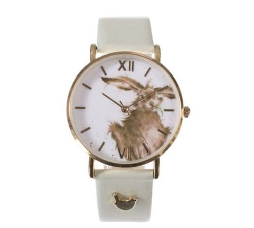 'Hare-Brained' Leather Watch