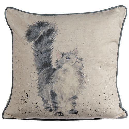 'Lady of the House' Cat Cushion