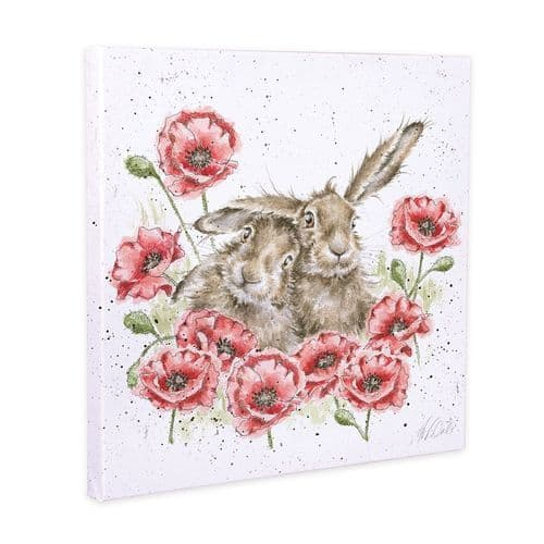 'Love is in the Hare' Canvas