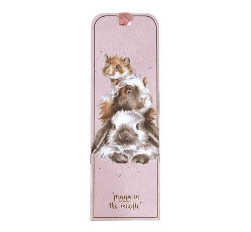 'Piggy in the Middle' Bookmark