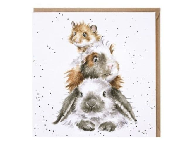 'Piggy in the Middle' Card - CS167