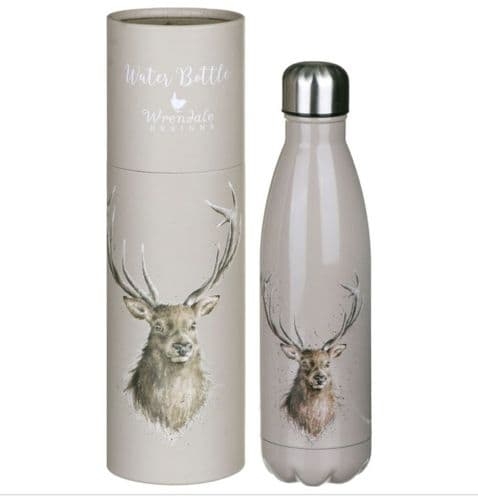 'Portrait of a Stag' Water Bottle 500ml