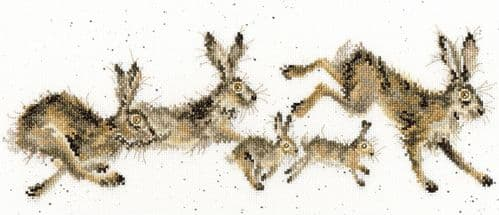 'Spring In Your Step' Cross Stitch Kit - XHD82