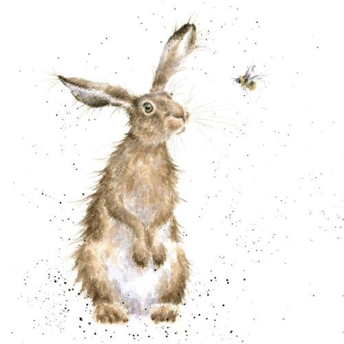 'The Hare and the Bee' Card CS133