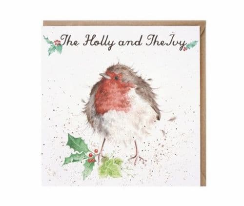 'The Holly and the Ivy' Christmas Card - CSC008