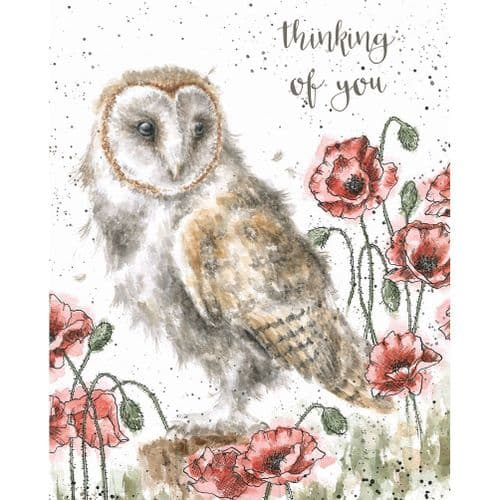 'The Lookout' Thinking of you Card - OC063
