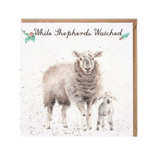 'While Shepherds Watched' Christmas Card - CSC010