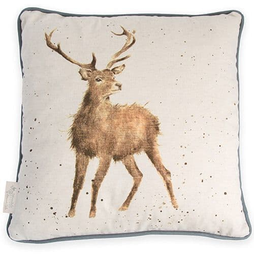 'Wild at Heart' Stag Cushion