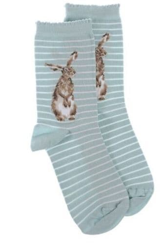 Bamboo Socks - 'Hare and the Bee'