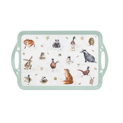 Large Country Set Tray
