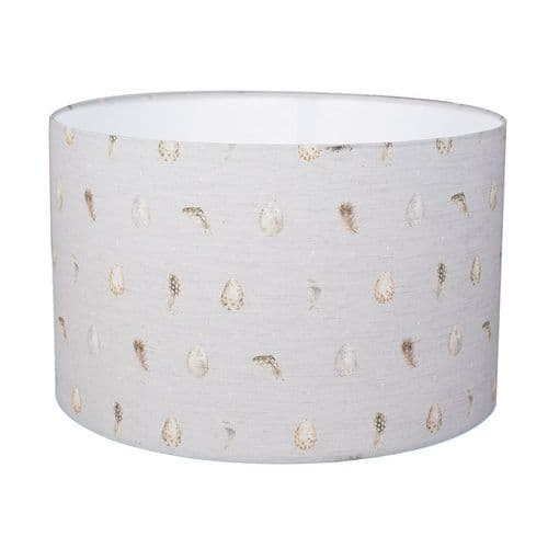 Large 'Egg & Feather' Lampshade