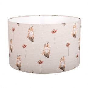 Large 'Fox and Poppy' Lampshade