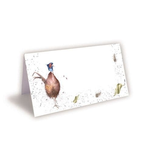 Pheasant Place Cards (Pack of 8)